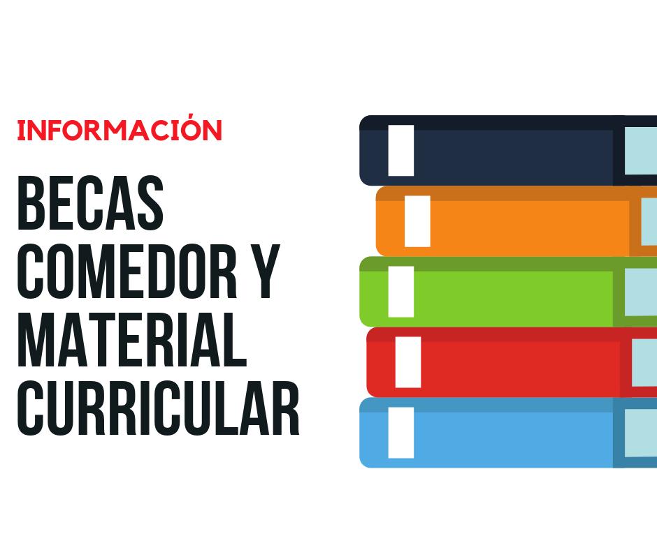Ayudas Material Curricular y Comedor 20 | Colegio Romareda